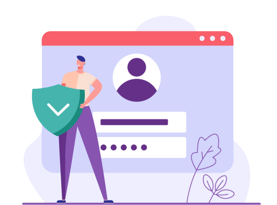 secure login, setup automatic payments