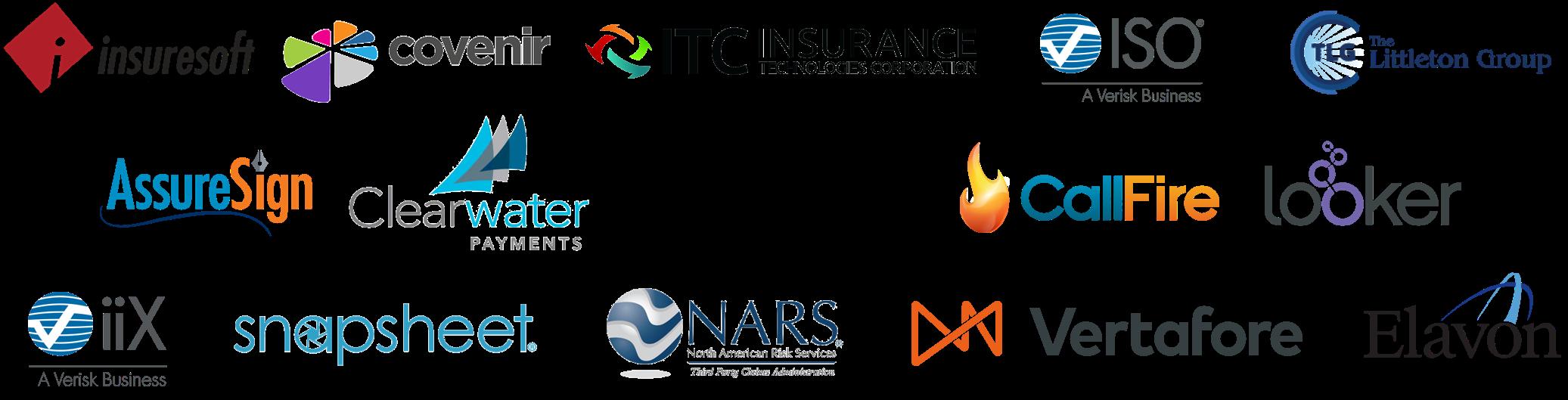 amigo integration partners logos